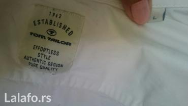 Farmerke-tom-tailor - Srbija: Tom tailor muška košulja, veličina l kao nova,kvalitetna, bez