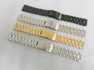 часы hublot механика в Кыргызстан: Стальные браслеты для часов 18 20 мм. Есть четыре расцветки. Длина