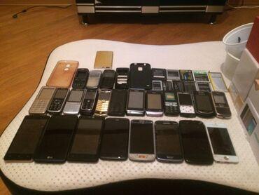 Digər mobil telefonlar - Azərbaycan: Telefonlarin ekseriyyeti iwlekdi qalanlarinda batareka korpus ekran