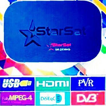 TV/video üçün aksesuarlar - Azərbaycan: StarSat sr-2030 HD  Yutube əlavəsi aktivdir. Vayfayla yutubda videolar