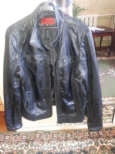 Женская одежда в Чолпон-Ата: Кожаная куртка .размер 50_52