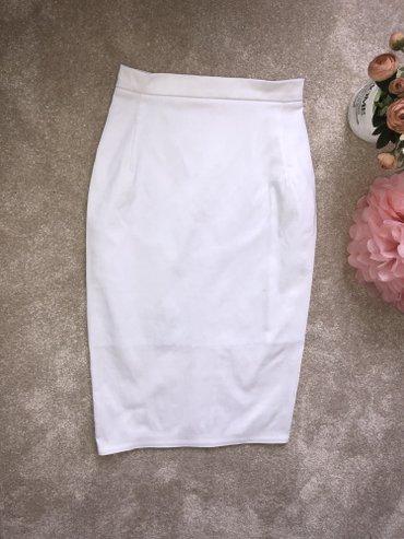 черная юбка карандаш в Кыргызстан: Белая юбка-карандаш  Бренд-Dishop Размер S, M Цена 1800с