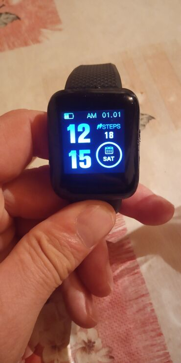 Smartwatch ağıllı qol saatı satıram. Az işlənmiş