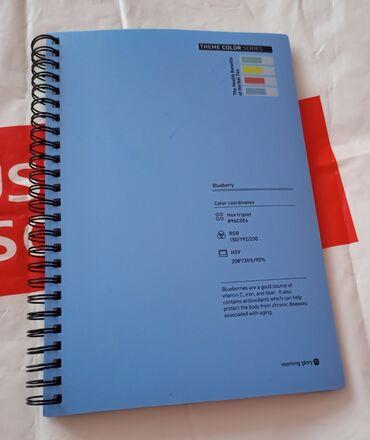 Блокнот - Кыргызстан: Новые тетради-блокноты из Кореи. Твёрдая обложка, плотные листы