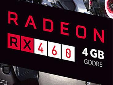 nano 4gb в Кыргызстан: RX460 4Gb 128bit DirectX12!  Является аналогом GTX1050 ! Тянет все сов