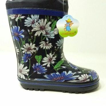туфли зелёного цвета в Кыргызстан: Резиновые сапоги  Размер: 31-36  Цена: 690 сом Код: А83 Цвет: синий