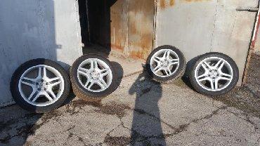 Продам оригинальные диски с летней резиной, Диски: Mercedes-Benz R18