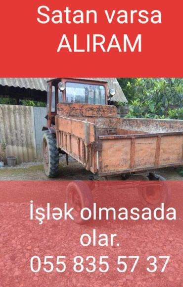 Bakı şəhərində T16 traktor