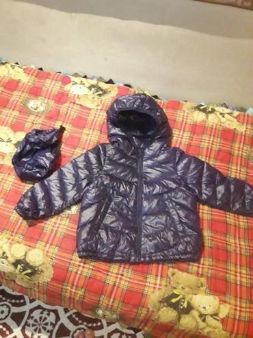 Куртка детская ростовка 90 новая. пуховик. легкая и теплая. собирается