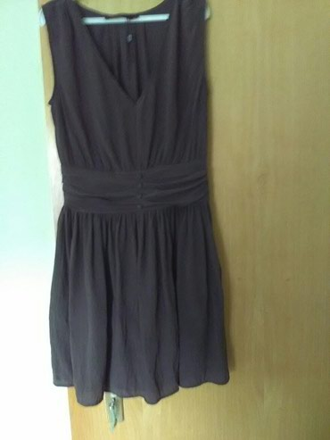 Ekstra nova haljina boja cokolade prelepo stoji, velicina XS, tanak - Pozarevac