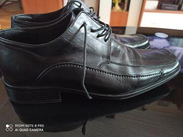Muske cipele 41 - Srbija: Muske kozne cipele br.41-kao nove -jednom obuvene