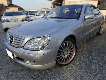 киргизия авто in Кыргызстан | АКСЕССУАРЫ ДЛЯ АВТО: Mercedes-Benz S-Class 2002 | 88000 км