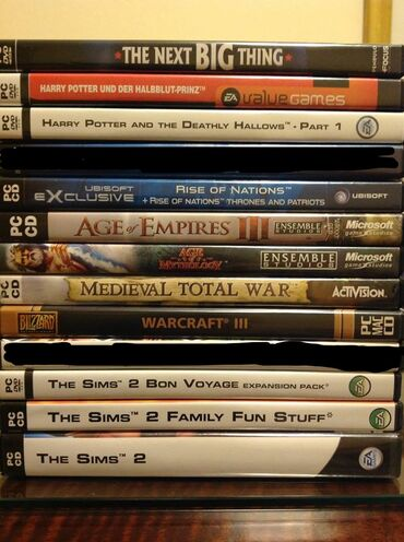 Age of Empires 3, Warcraft 3, Rise of Nations, Medieval Total War