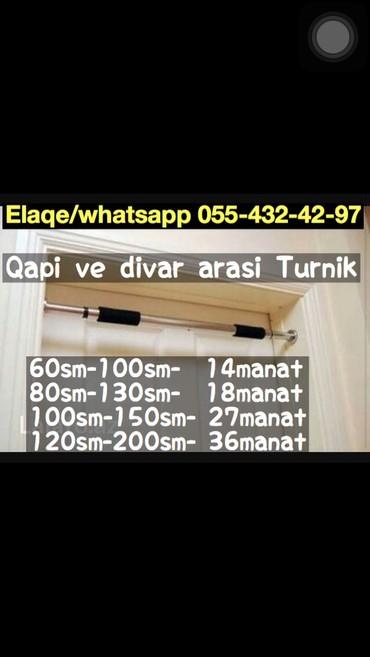 Bakı şəhərində Turnik 62sm-100sm —14azn