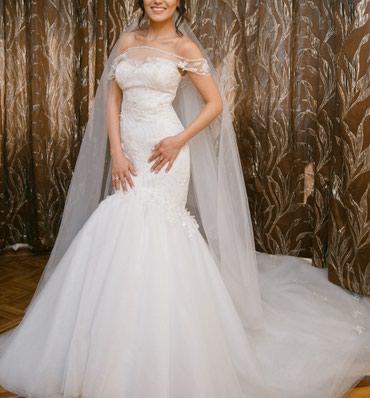 Шикарное свадебное платье сшито на в Бишкек