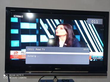 Plazma televizor Sony 109 ekran.Cox keyfiyyətli tvdi.ekranini