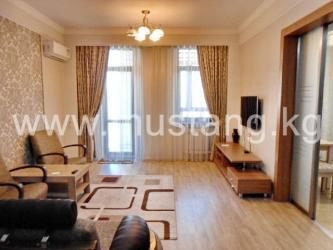 туристические агентства кыргызстана в Кыргызстан: Сдается квартира: 2 комнаты, 80 кв. м, Бишкек