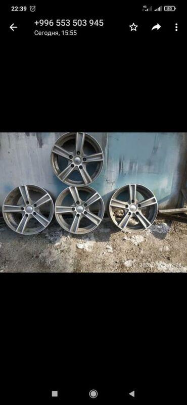титановые диски бу в Кыргызстан: Продаю титановые диски. На 15 и На 14 на БМВ