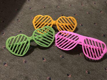 Naočare  Šarene, plastične naočare. 150din komad ili 3 za 300