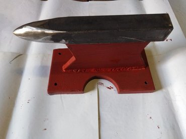 Nakovanj, težine 18 kg, donja ploča debljine 25 mm x 160 mm x 300 mm