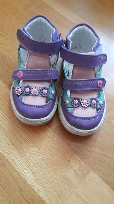 детские лаковые туфли в Азербайджан: Б/у(1-2 раза одевались) Детские туфли şirinbebe размер 23