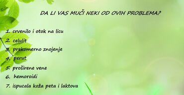 Ostalo - Sremska Mitrovica: U poruci mi napišite redni broj zdravstvenog problema koji Vas muči, a