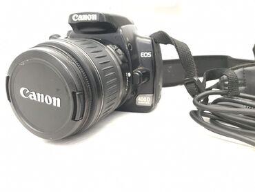 фотоаппарат canon eos 650 d в Кыргызстан: Продаю б/у фотоаппарат Canon EOS 400D. В комплекте зарядка, чехол, шну