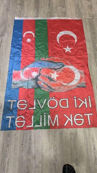 41 elan   BAYRAQLAR: Azerbaycan Turkiye bayraq  Olcu ; 110/90 7 man   1