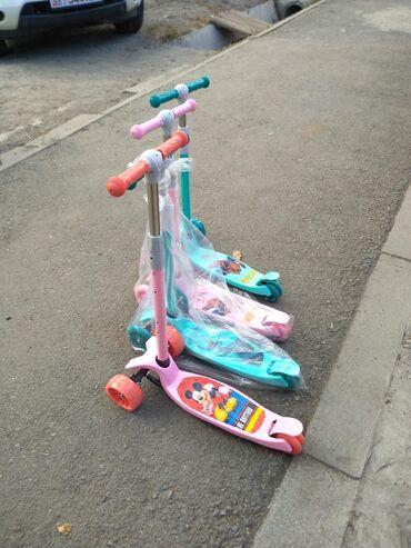 самокат scooter в Кыргызстан: Scooter (самокаты) Детские Прочные Активные Новое поступление В