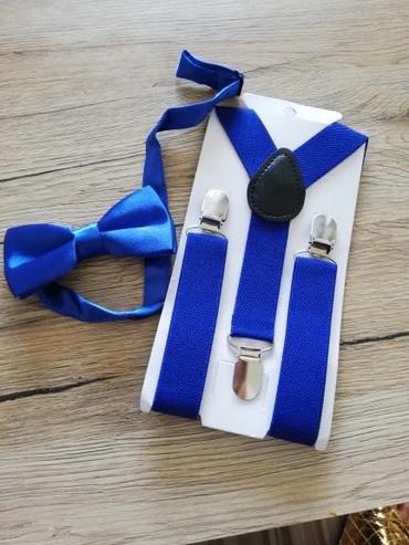 Ostala dečija odeća   Ruski Krstur: 550 din. Tregeri I mašna za bebe i malo starije dečake
