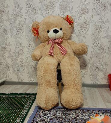 Детский мир - Майлуу-Суу: Продаётся мишка! Рост 120см. Плюшевый медведь
