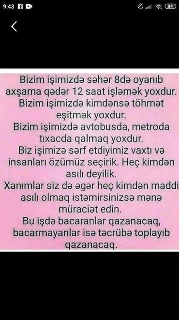 brilliance m3 18 t - Azərbaycan: Şəbəkə marketinqi məsləhətçisi. İstənilən yaş. Natamam iş günü
