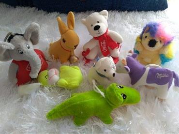 Plisane igracke za bebe. Potpuno ocuvane i preslatke. Za prvo igranje - Prijepolje