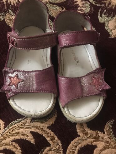 детские босоножки с закрытой пяткой в Азербайджан: Босоножки кожаные, производство Турция размер 23