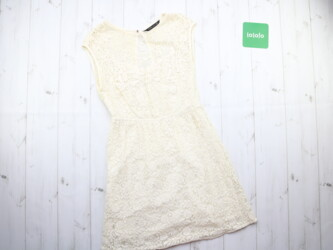 Стильное женское кружевное платье от бренда Zara,р.M Длина: 78 см Пог