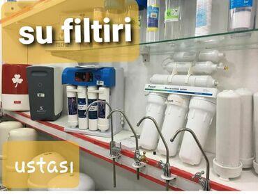 servizi - Azərbaycan: Su filtiri servizi