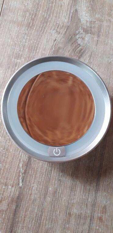 батарейка на гироскутер в Кыргызстан: Зеркало с подсветкой, увеличивает 4,5 раза на батарейках. Привозили