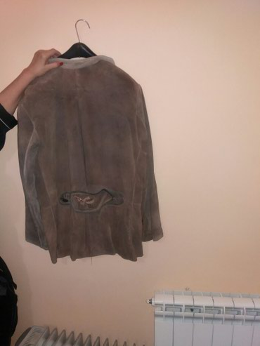 Muska nova kozna jakna od prevrnute koze. Uvoz iz nemacke. Velicina 42 - Belgrade