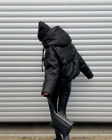 Bestseller  Куртка пуховик из экокожи в стиле ZARA - это хит продаж и