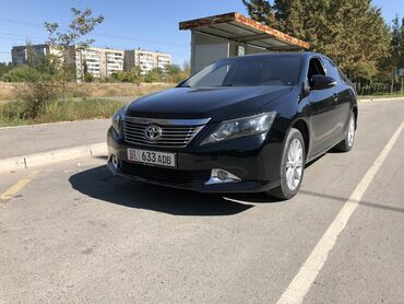 проба в Кыргызстан: Toyota Camry 2 л. 2014 | 95000 км