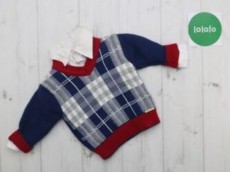 Комплект рубашка та светрик, 3-6 місяців    Бренд Monna Rosa Вік 3-6 м