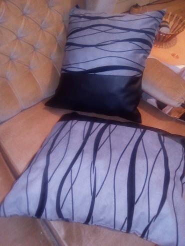 Ostalo za kuću | Varvarin: Jastuci od mebla i koze punjeni sundjerom
