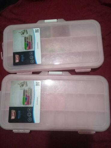 Находки, отдам даром - Новопавловка: Отдам контейнеры для хранения мелочи: бисера, иголки, бусы, пуговиц