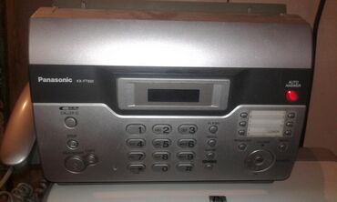 Printerlər - Azərbaycan: Telefon faks satıram 50 azn panasonik