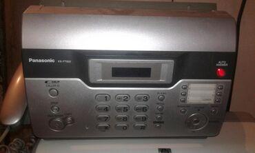 akkumulyator panasonik в Азербайджан: Telefon faks satıram 50 azn panasonik