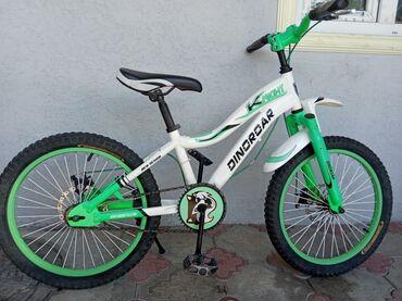 Спорт и хобби - Кашка-Суу: Продаю подростковый велосипед 6-14 лет.Фирма Knight dinoroar.Дисковые