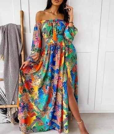Prelepa haljina Uni velicina Cena 2500