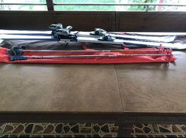 Лыжи - Кыргызстан: Лыжи ELAN 168см,Словения Европа,Ботинки ELAN 30,42-45наш размер, палки