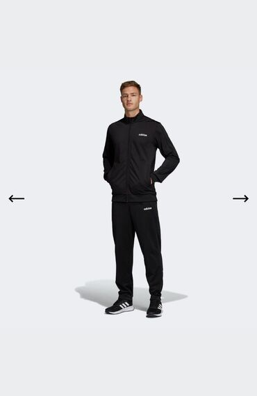 Спортивный костюм Adidas. Оригинал! 100% полиэстер. Размер M