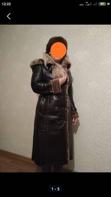Шубы - Кыргызстан: Продаю натуральную дублёнку( турецкая), размер- 44, состояние отличное